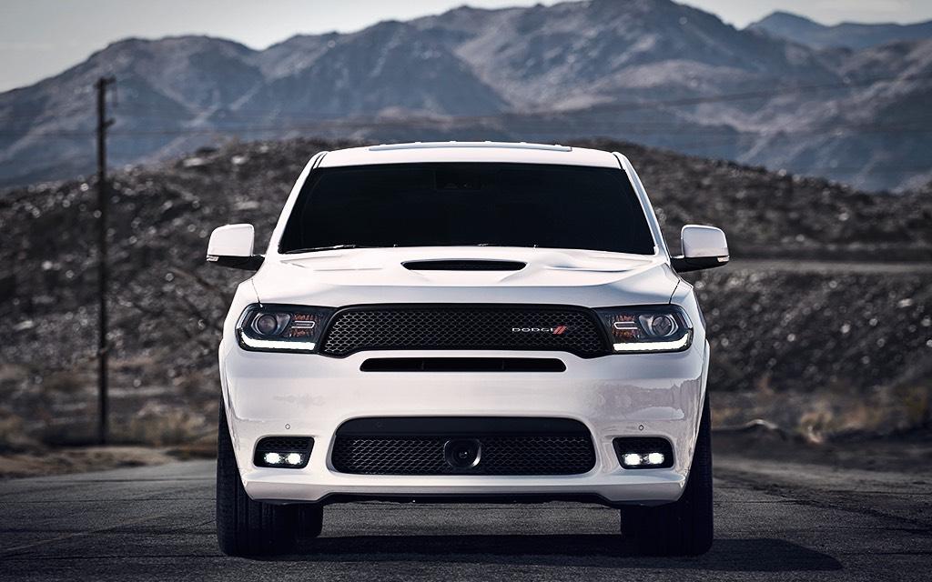 La Dodge Durango R/T 2019 posee un aspecto musculoso e imponente