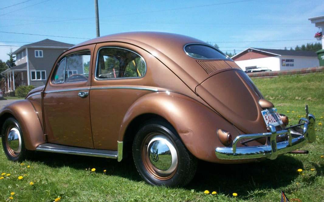 El Volkswagen Sedán era conocido en nuestro país como Vocho