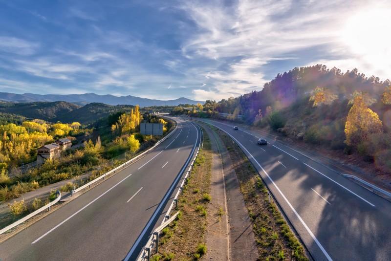 Las carreteras tienen diferentes características