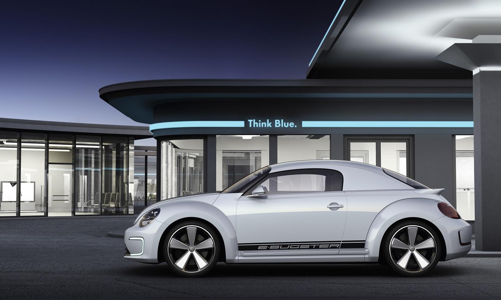 El Volkswagen  Beetle e-Bugster Concept fue otra gran idea que no se materializó