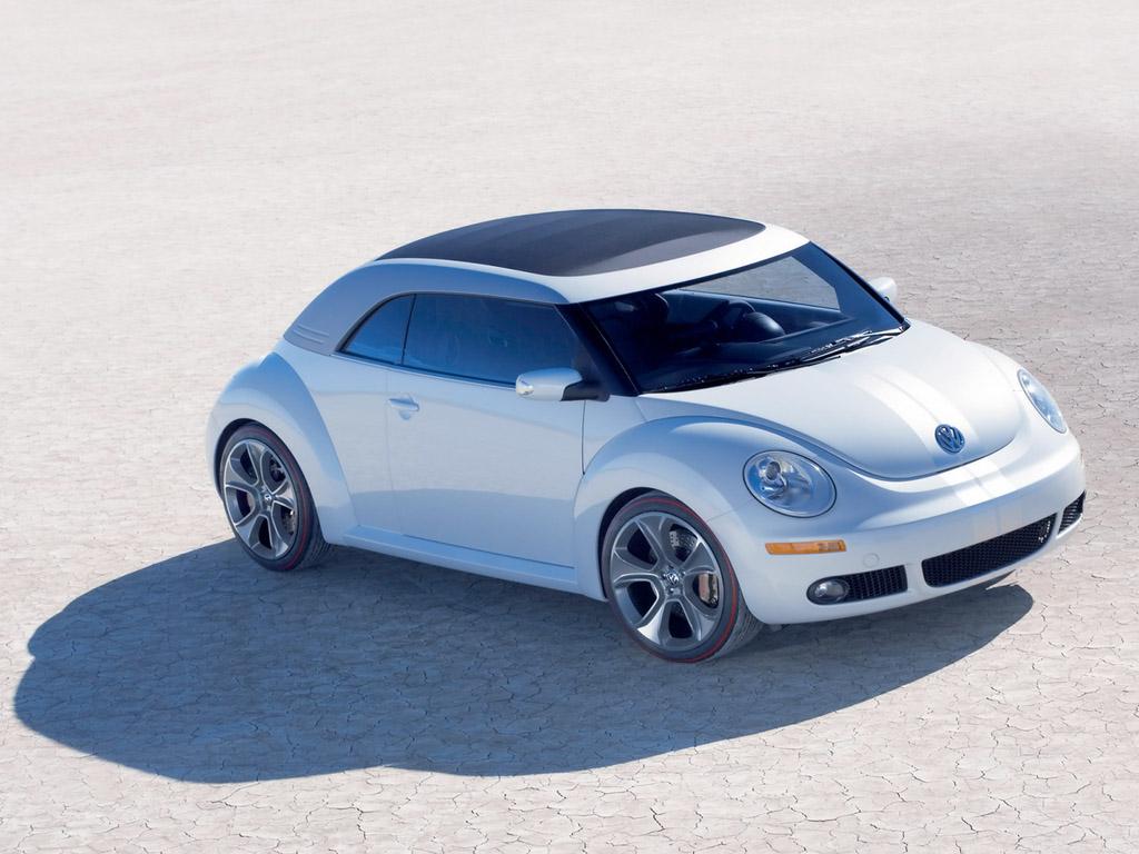 El Volkswagen  Beetle Ragster fue visto por el mundo en el 2005