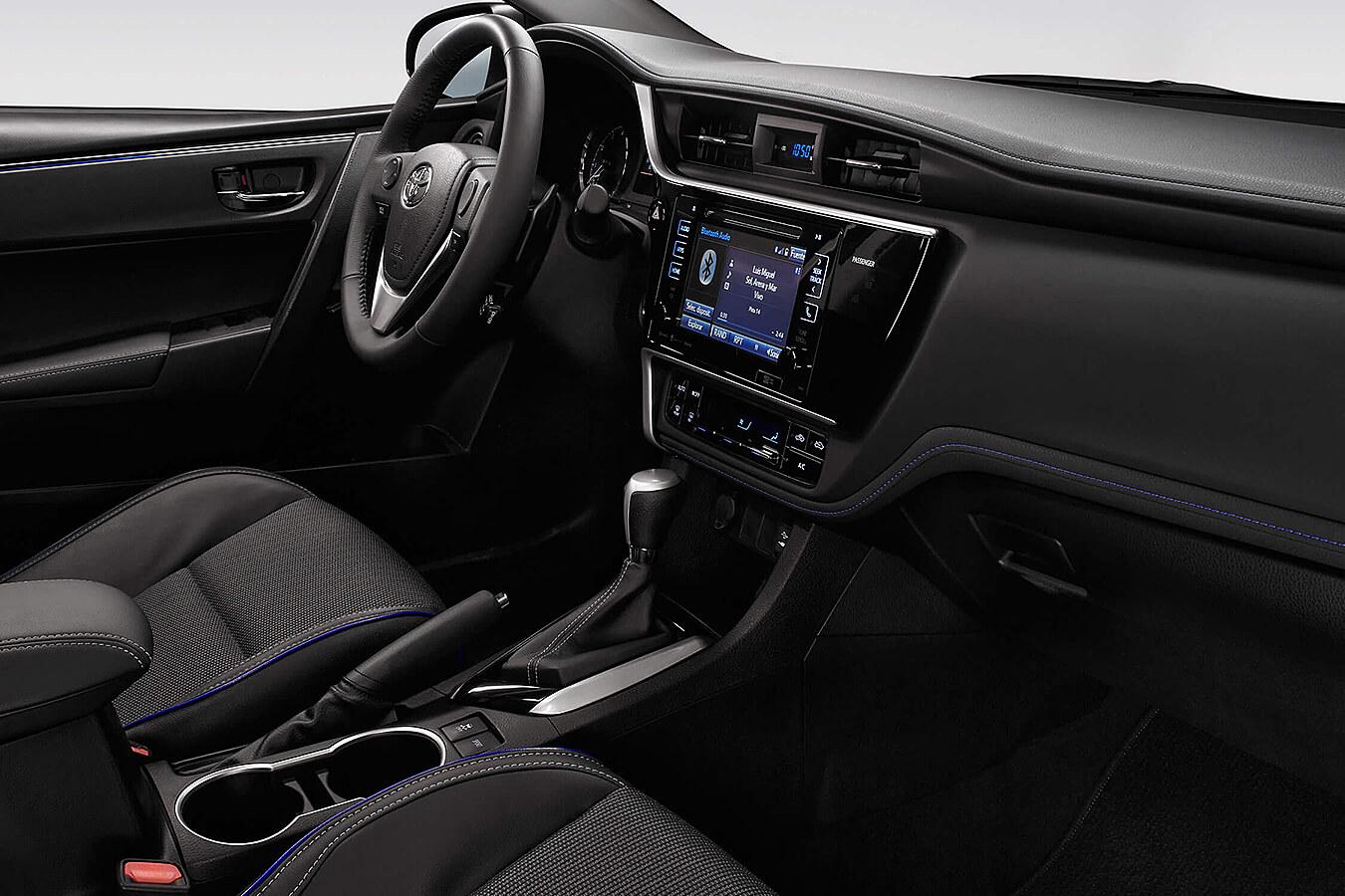 Entre las desventajas del Toyota Corolla SE Plus CVT 2019 está su falta de atrevimiento para innovar en todos los apartados