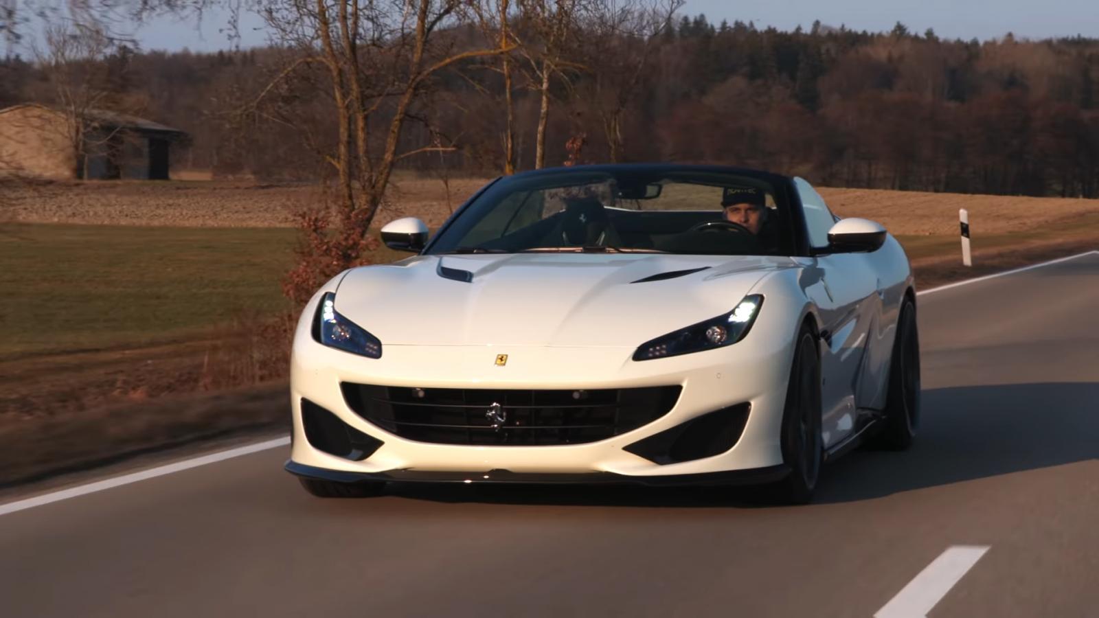 El Ferrari Portofino luce más radical y poderoso con las modificaciones estéticas realizadas por Novitec