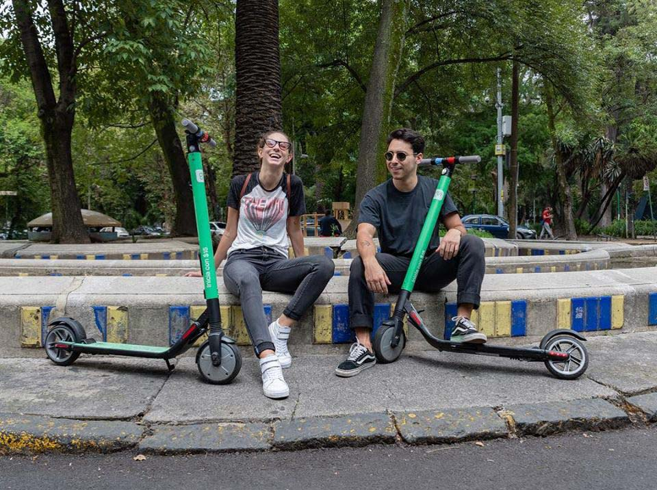 Los scooters eléctricos han invadido las calles de la CDMX
