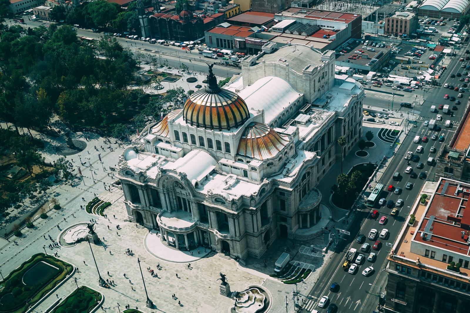 El Palacio de las Bellas Artes de la CDMX