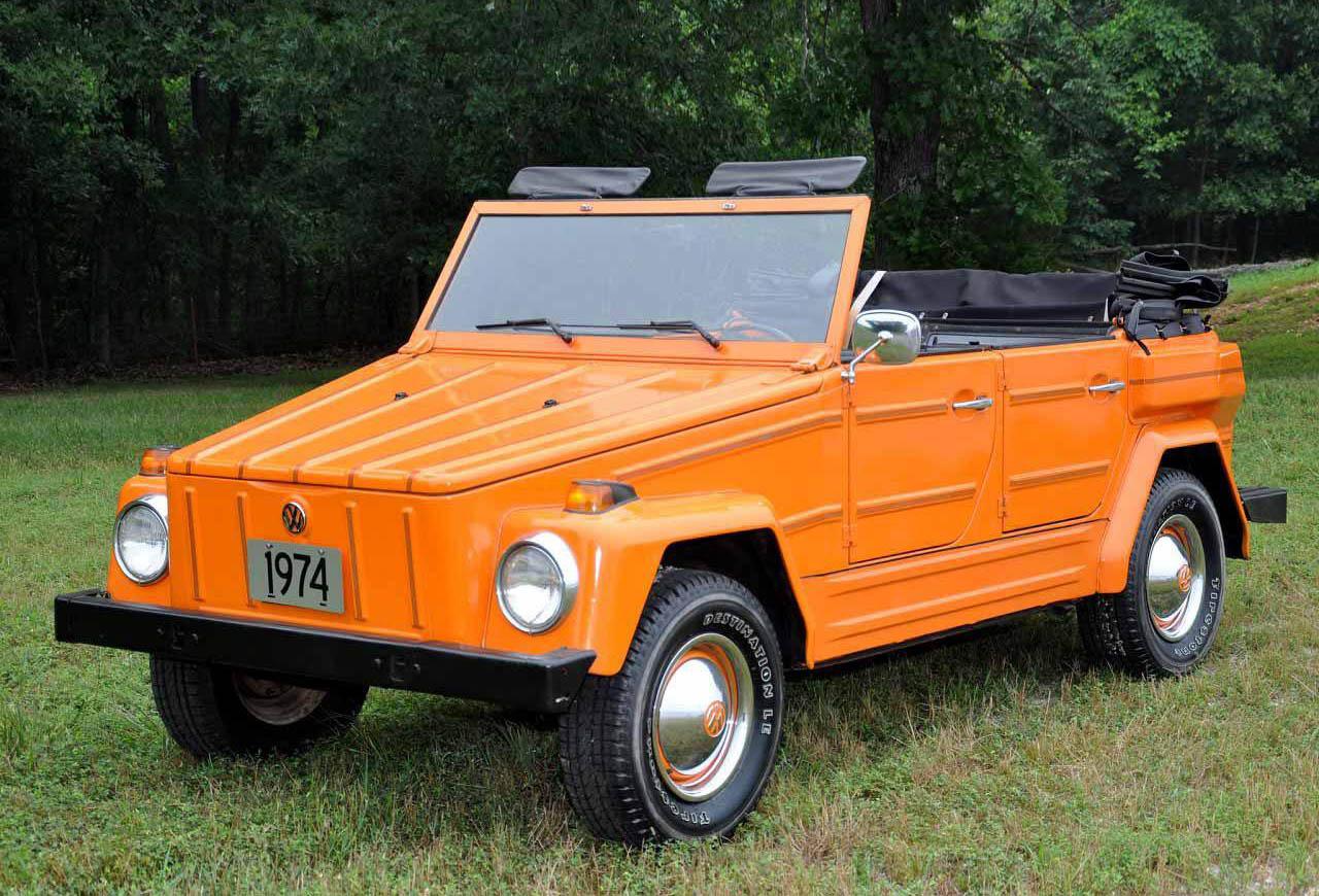 El Volkswagen Safari se produjo entre 1970 y 1980