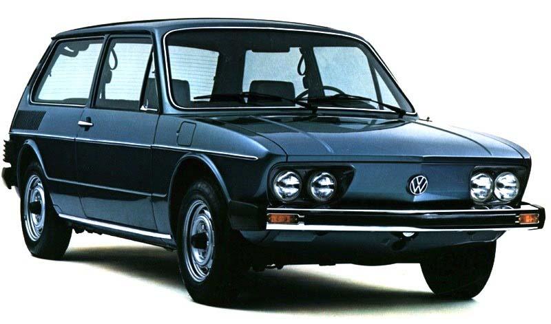 El Volkswagen Brasilia comenzó a producirse en México entre 1974 y 1982