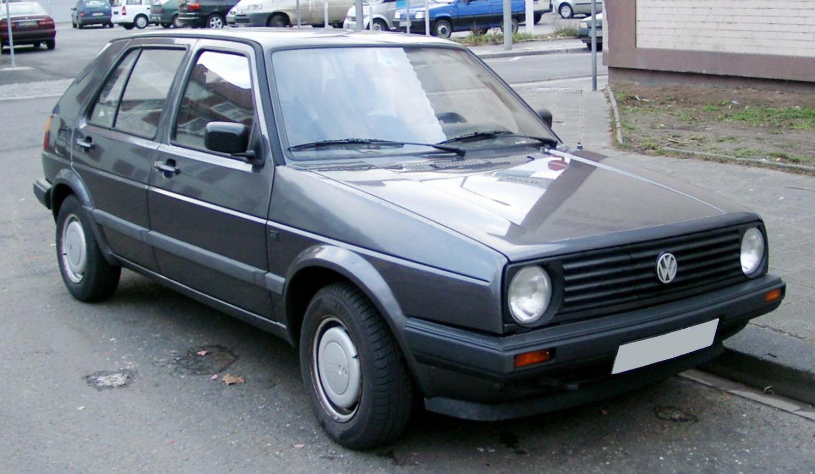 El Volkswagen Golf II tuvo una mejora importante de la primera generación