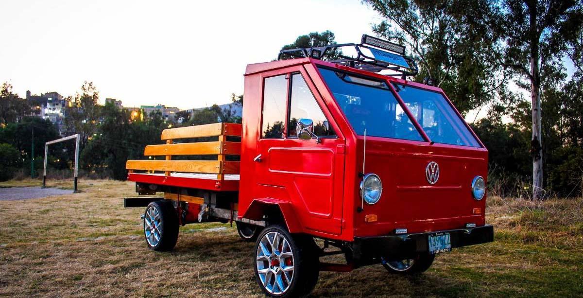 La Volkswagen Hormiga se fabricó en México entre 1975 y 1978