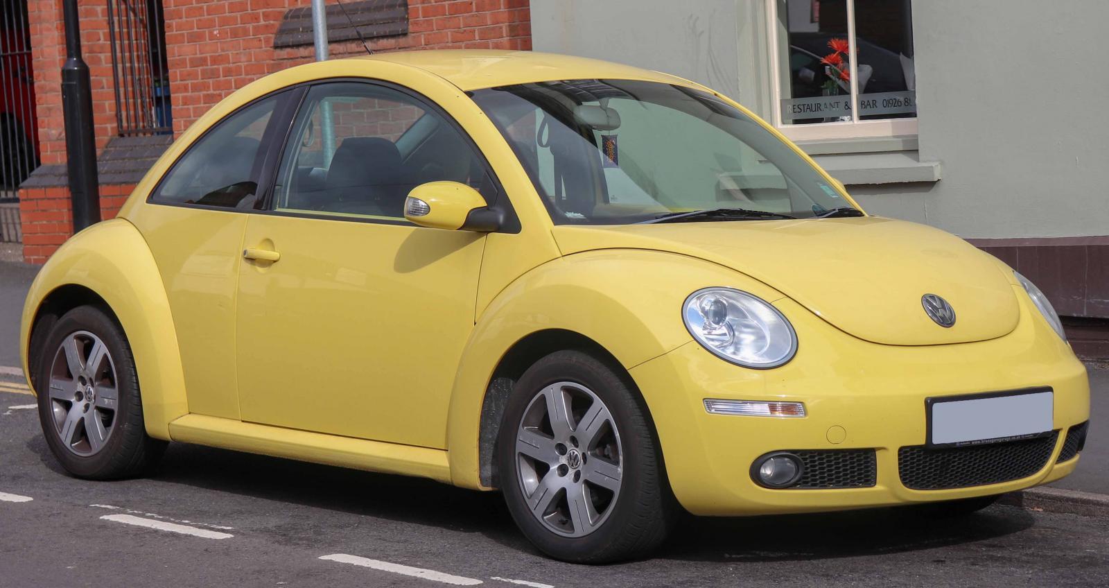 El New Beetle tomó un rumbo diferente al Vocho