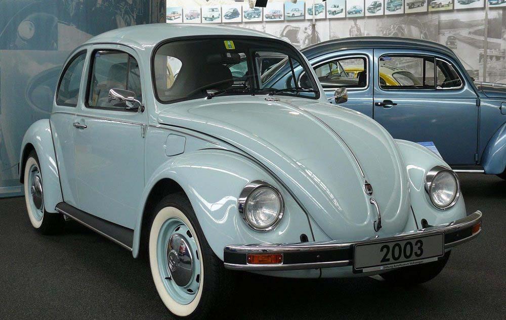 El Volkswagen dejó de producirse en México en 2003
