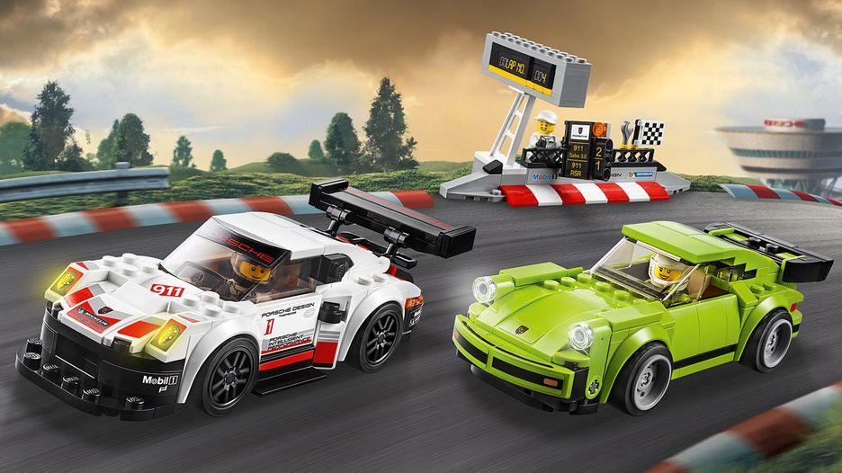 LEGO Speed Champions Porsche 911 RSR & Turbo 3.0