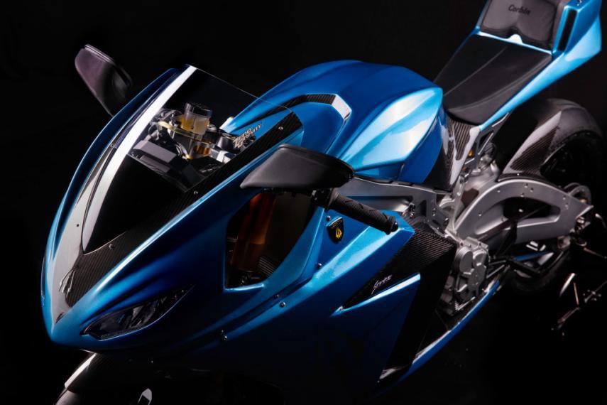La Lightning Strike tiene un diseño muy llamativo y aerodinámico
