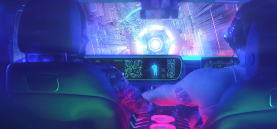 Mercedes-Benz immersive gaming