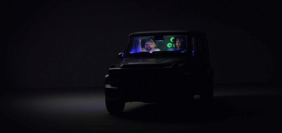 Daimler immersive gaming
