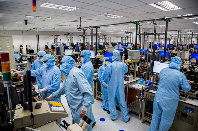 Apple trabajadores
