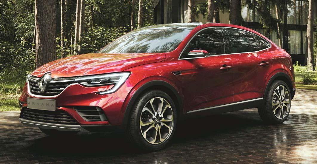 Renault presentó en Seúl la Arkana 2020