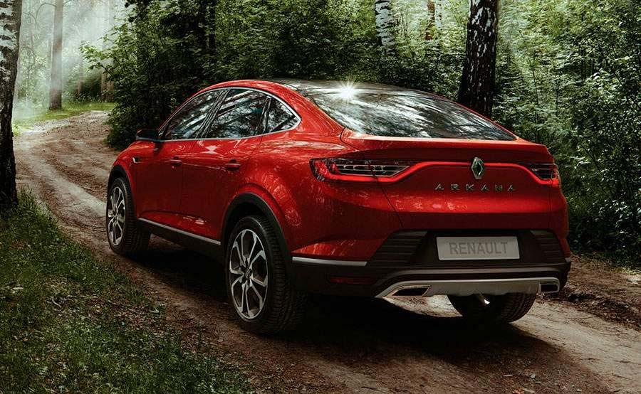 La Renault Arkana 2020 tendrá mejoras técnicas muy importantes
