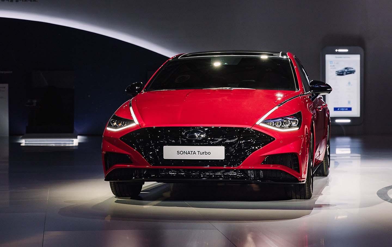 Hyundai Sonata Turbo 2020 tiene un motor turbo de 4 cilindros