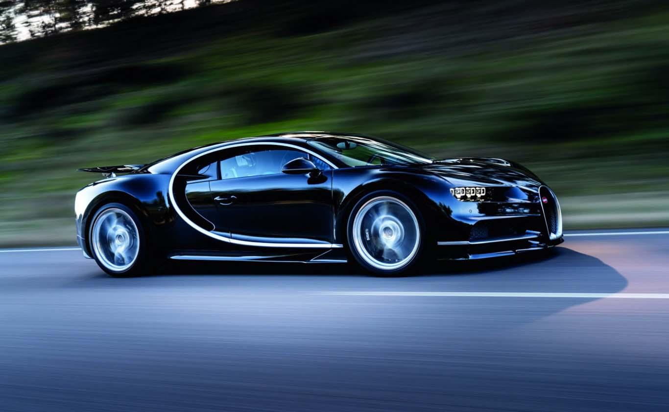 El Bugatti Chiron es el sucesor del Bugatti Veyron
