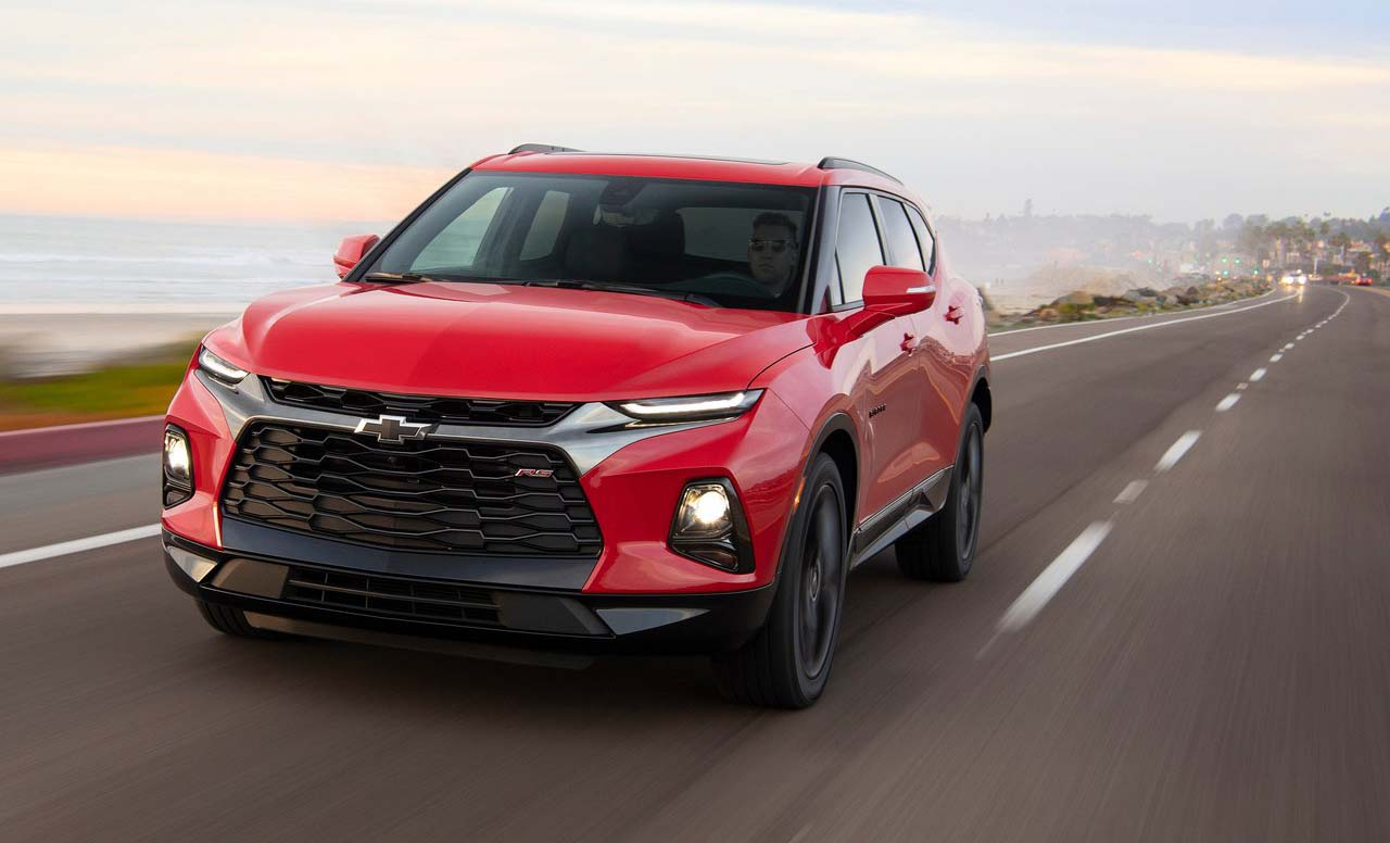 La Chevrolet Blazer 2019 fue retirada de una exhibición en Detroit
