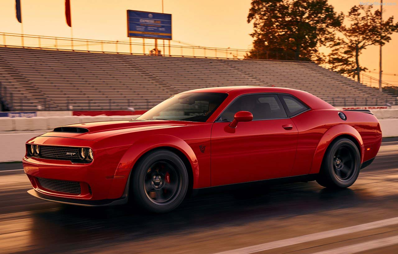 El Dodge Challenger SRT Demon es en realidad un dragster monoplaza