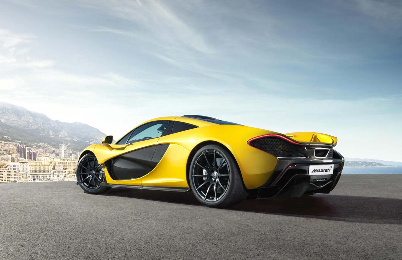 El McLaren P1 es el legítimo heredero del Mclaren F1
