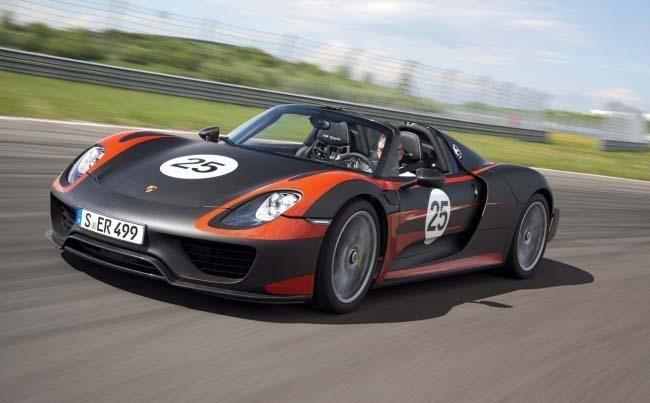 El Porsche 918 Spyder era visto como el tercero en discordia de la famosa triada con LaFerrari y P1