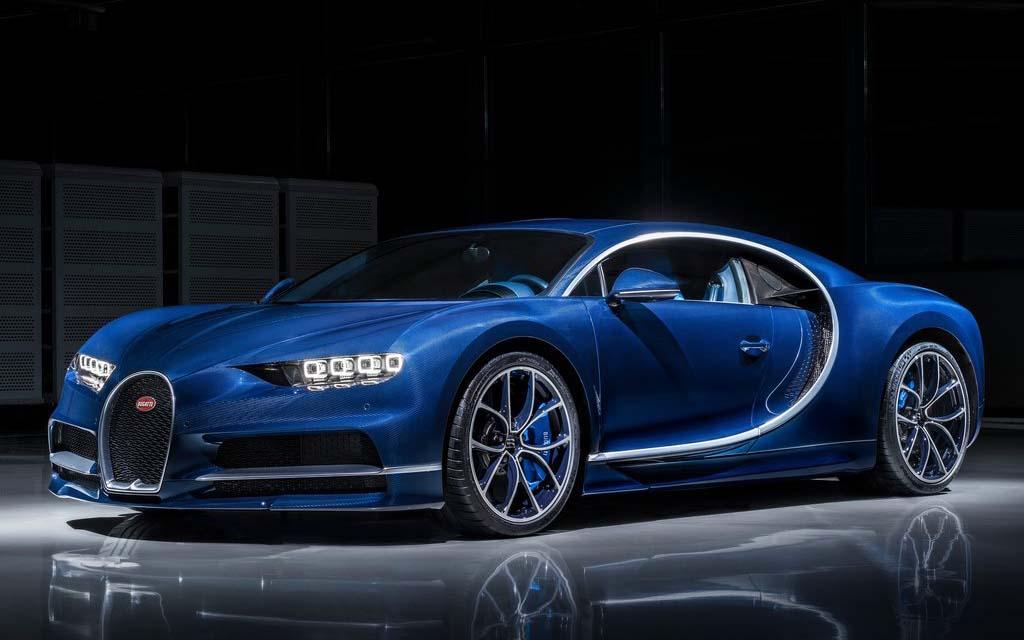 El Bugatti Chiron es uno de los autos que puedes estacionar en este juego