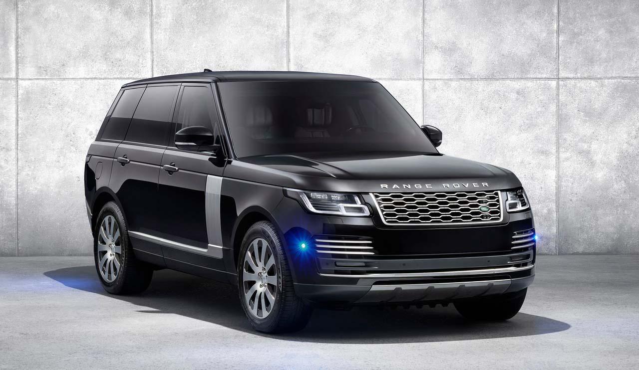 La Range Rover 2019 tiene nuevos faros de LED