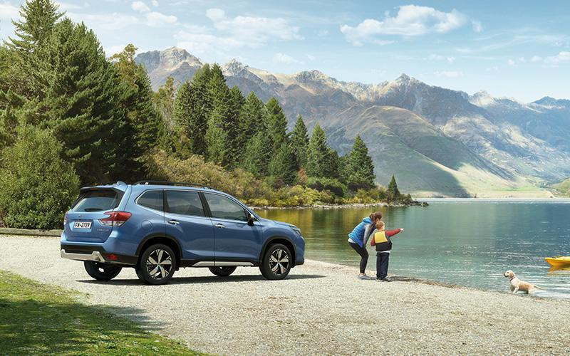 Subaru Forester 2019 lago