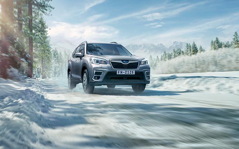 Subaru Forester 2019 nieve