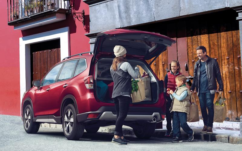 Subaru Forester 2019 portón tarsero
