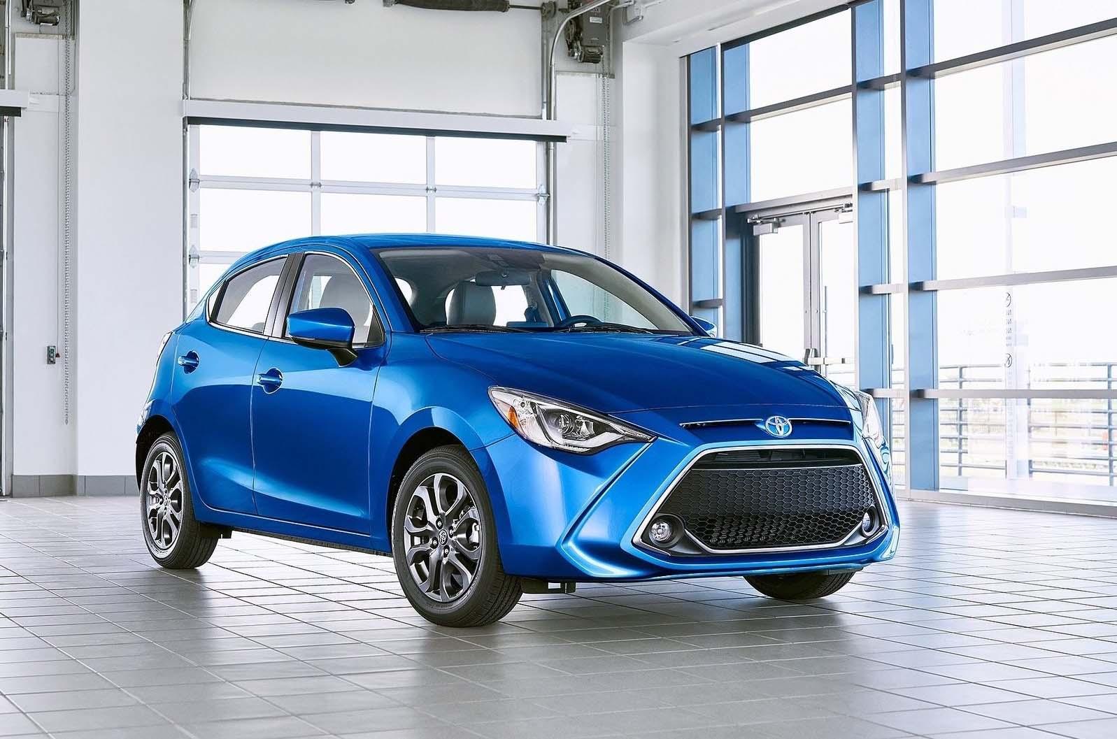 El Toyota Yaris Hatchback 2020 será presentado en el Auto Show de Nueva York