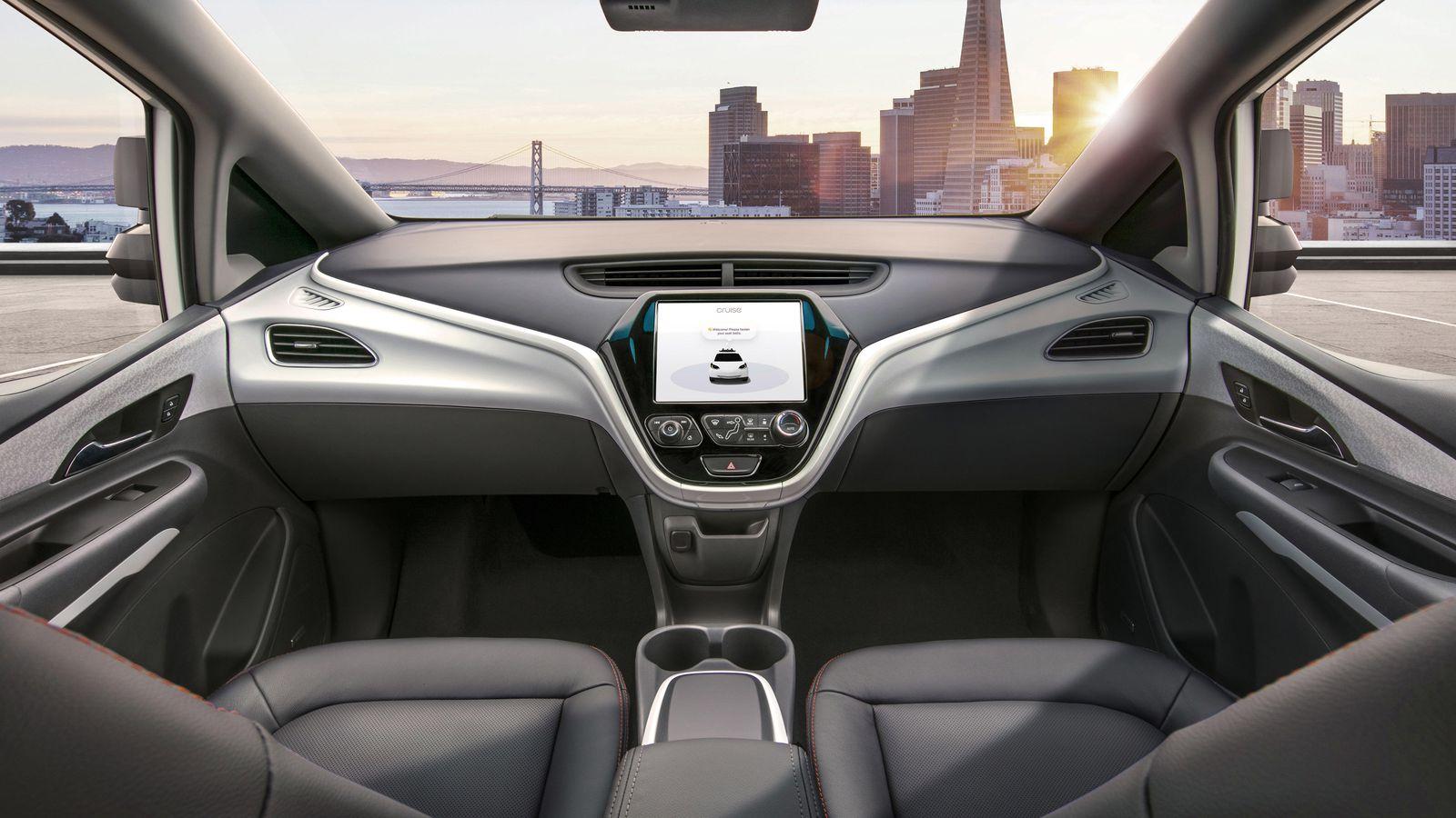 GM vehículo autónomo