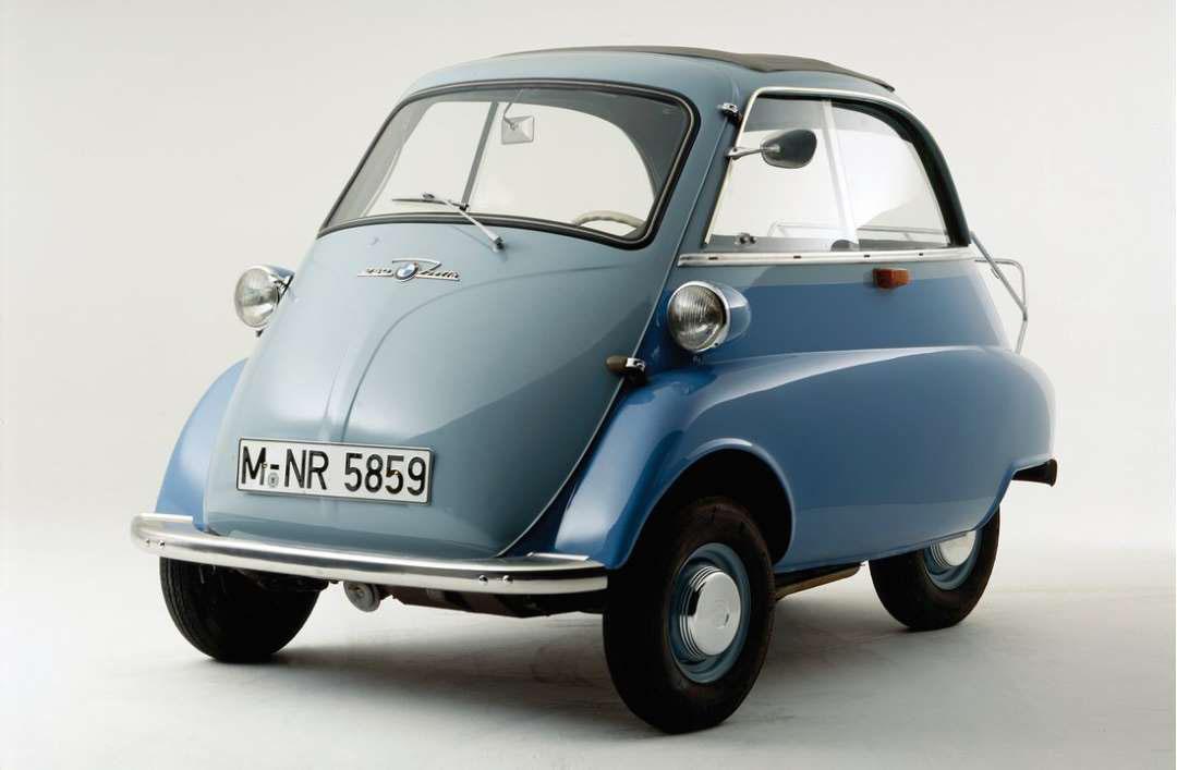 El Isetta original era un auto tipo burbuja que se fabricó en 1950