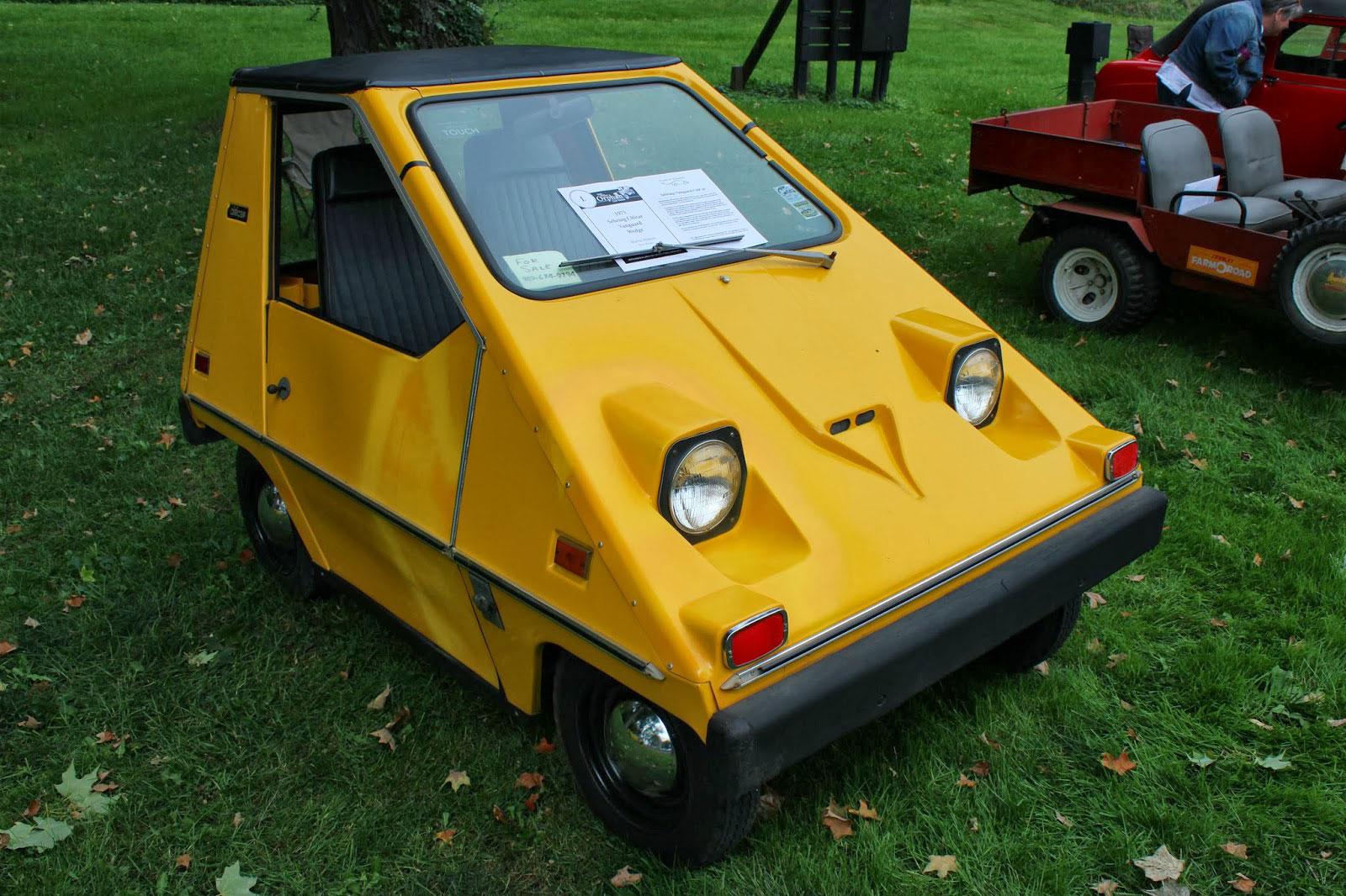 En 1974 se presentó por primera vez el CityCar