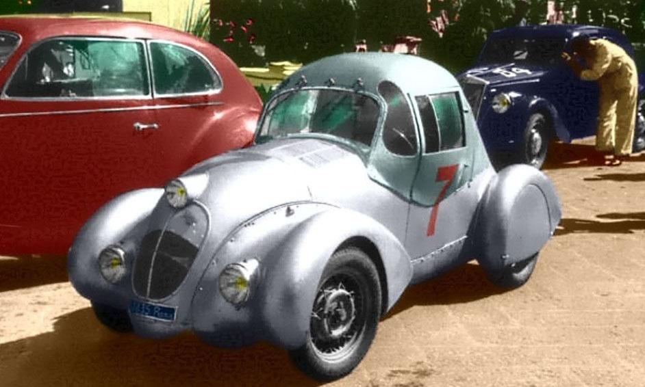 El Fiat 500 testa Siata de 1938 fue diseñado por Zagato
