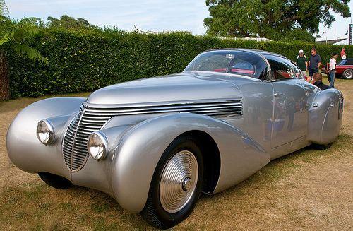 El Hispano Suiza H6 Dubonnet Xenia es uno de los vehículos más espectaculares de su época