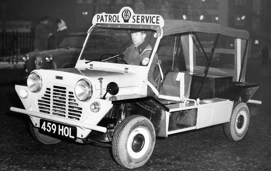 El Moke de 1964 fue pensado como un vehículo militar