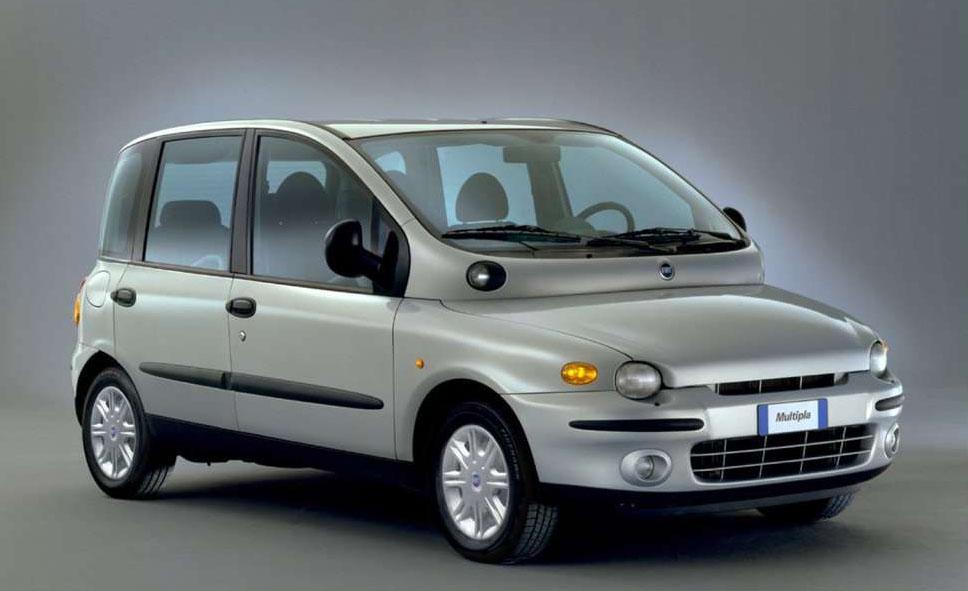 El Fiat Multipla 1999 nunca llegó a esta parte del mundo