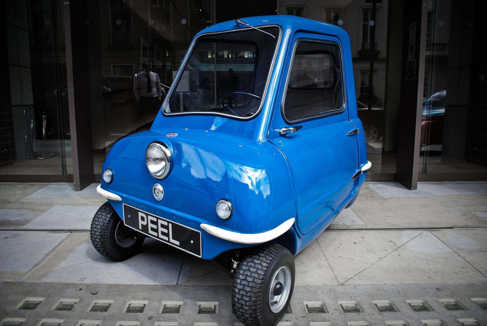 El P50 es considerado en auto de producción en serie más pequeño del mundo