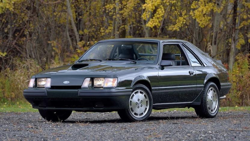 Ford Mustang SVO 1984