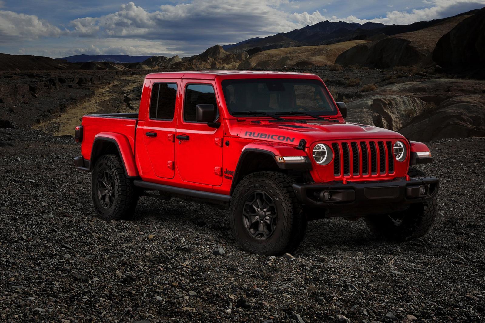 Jeep Gladiator Launch Edition 2020