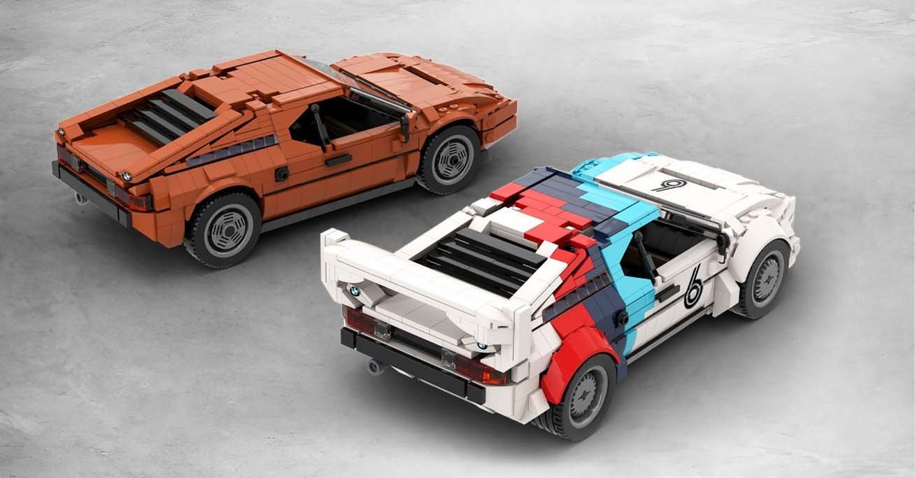 Se fabricó el BMW M1 en versiones de calle y de competencia