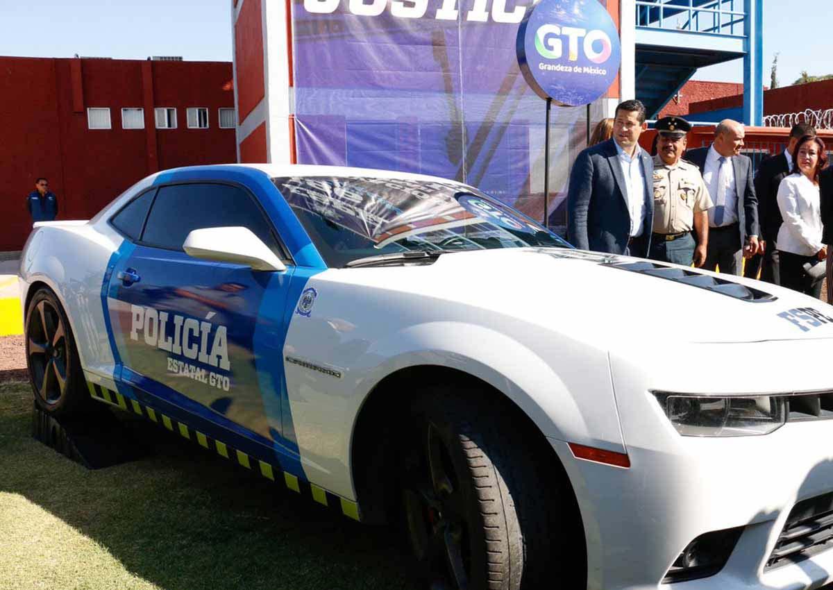 Un Chevrolet Camaro será parte de la policía de Guanajuato