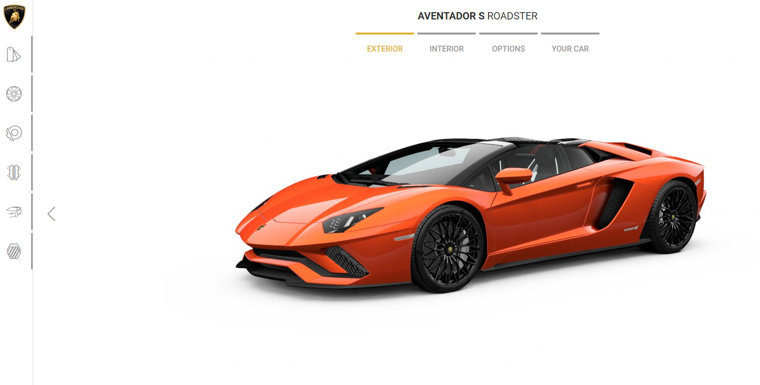 Configurador Lamborghini