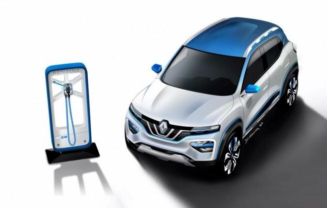 Renault City K-ZE, la primera SUV eléctrica de la marca destinada para China