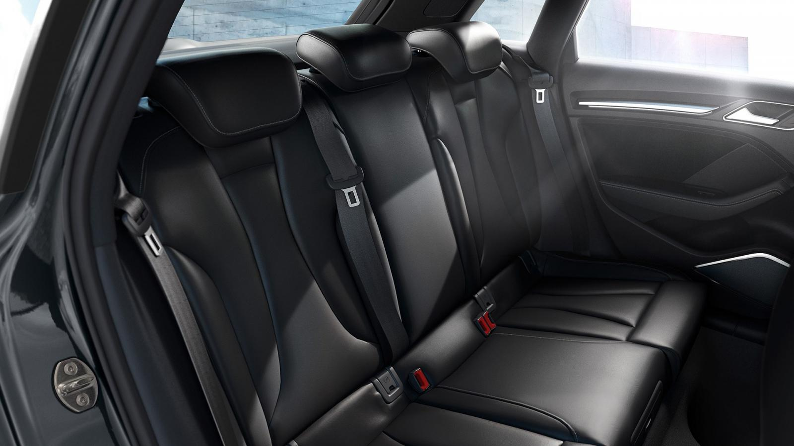 Audi A3 asientos traseros