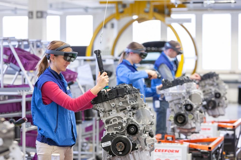 BMW VR headsets visores